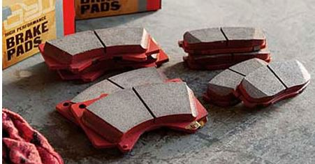 TRD High Performance Rear Brake Pads 2012-2014