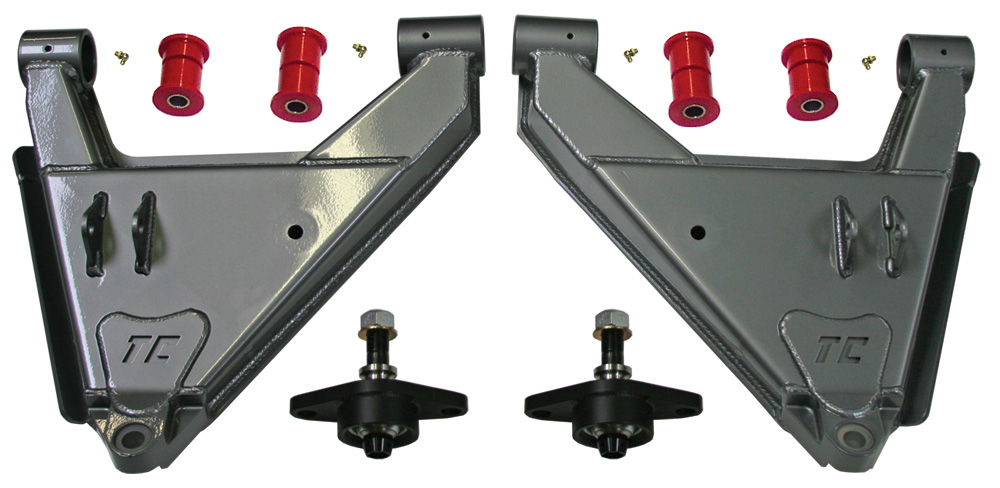 Total Chaos Stock Uniball Lower control Arms w/Dual shock capability 2003-2009