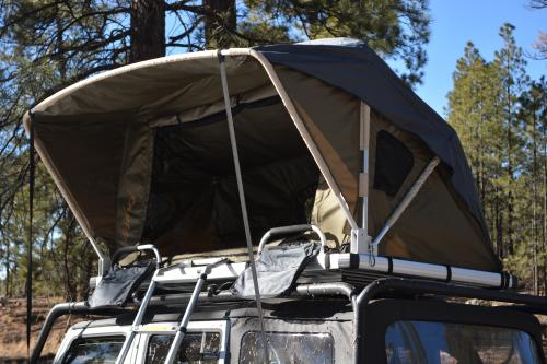 Raptor Series Voyager Roof Top Camping Tent w/Ladder