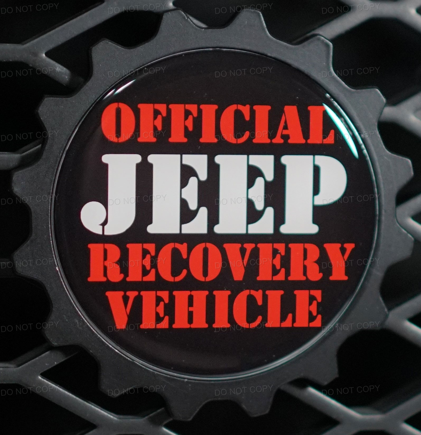 Jeep Rescue Badge