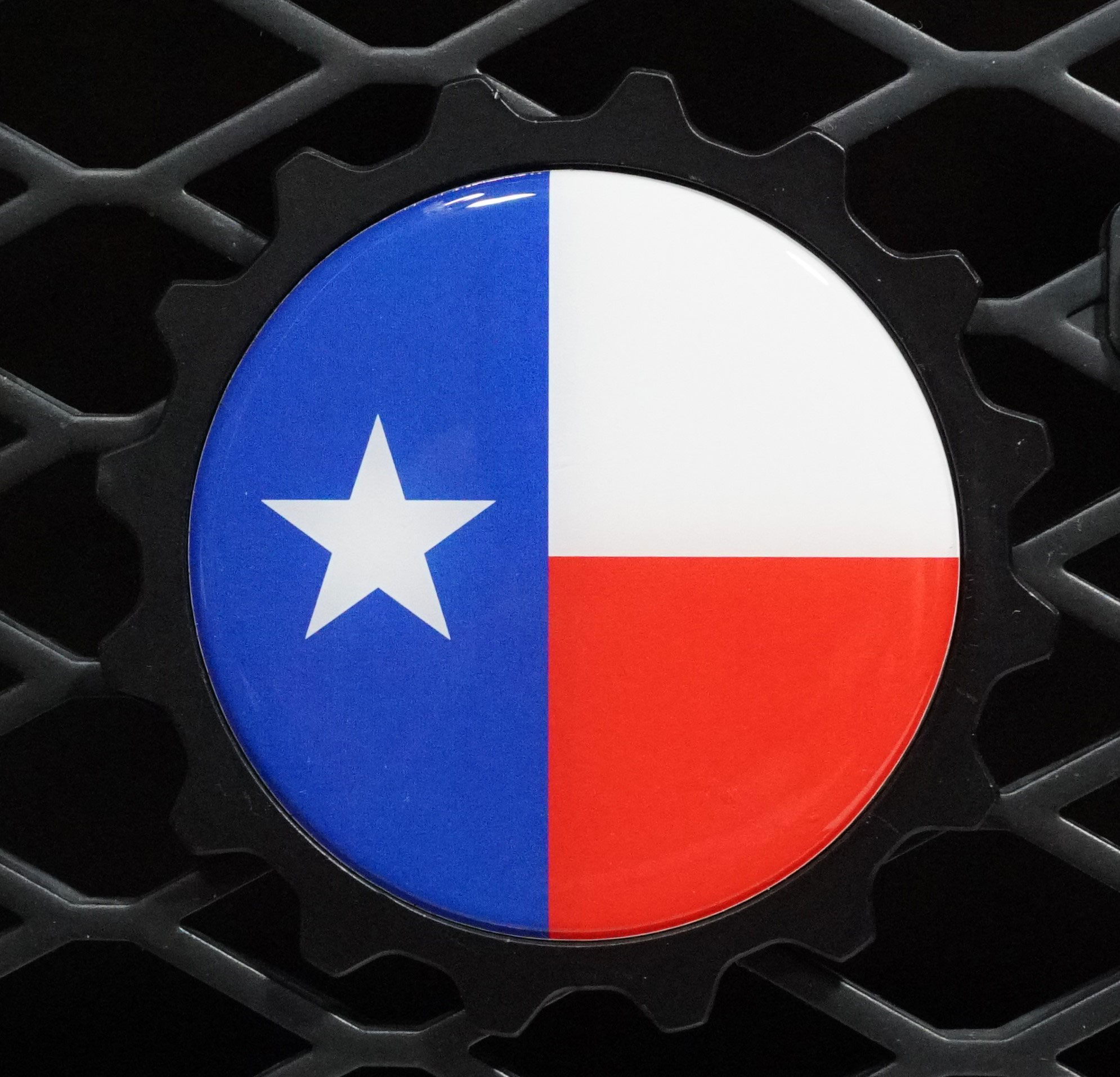 Texas Flag Badge