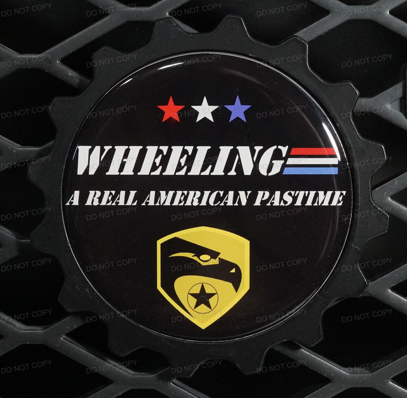Wheeling Joe Badge