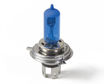 Putco Halogen Headlight Bulbs - Nitro Blue H4