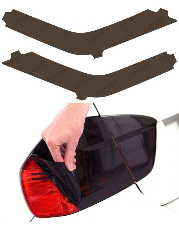 Lamin-X Toyota 4Runner (14- ) Charcoal Rear Reflector Delete Covers