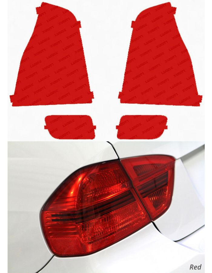 Lamin-X Toyota 4Runner (03-05) Red Tail Light Covers