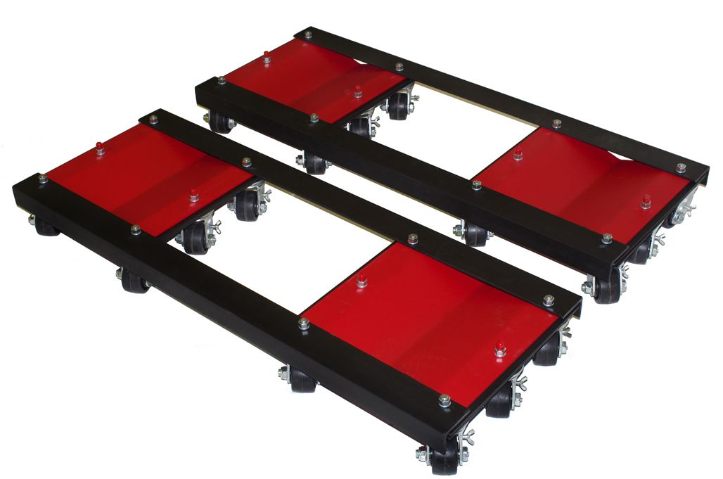 Auto Dolly - Ginormous Tandem Axle Dolly